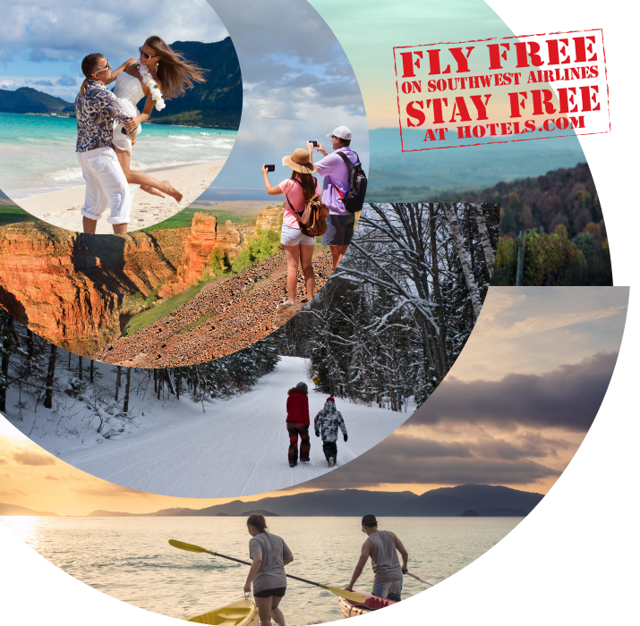 Fly Free on Southwest Airlines Stay Free at Hotels.com