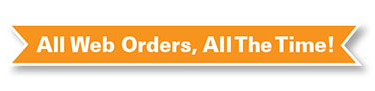 All Web Orders, All the Time