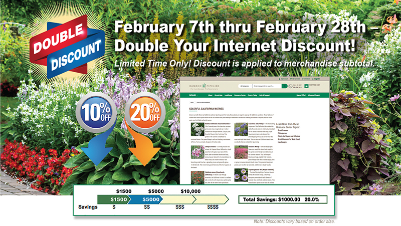 Double Your Internet Discount!