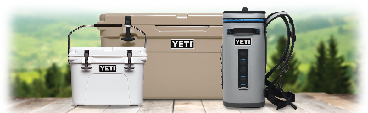 Get Great Web Discounts and Yeti Coolers