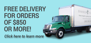 Free Delivery for orders of $850 or more!
